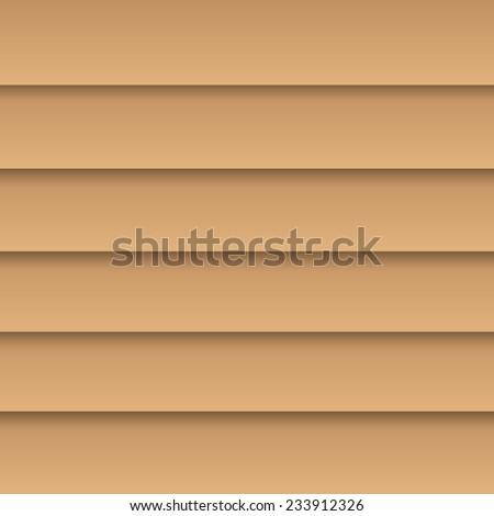 Background illustration of colorful window blind slats. - stock vector