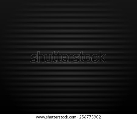 Background made of Thin horizontal lines with shade effect from corners - stock vector