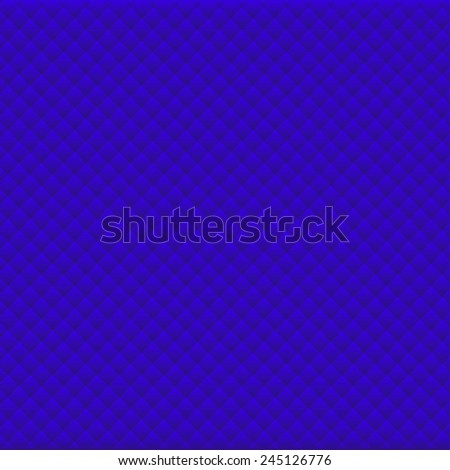 Background of blue rhombus pattern eps10 - stock vector