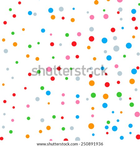 background of colored balls. vector illustration. EPS 10 - stock vector