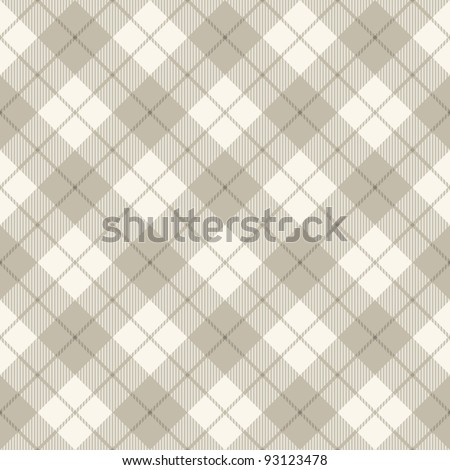 Background of diagonal plaid pattern concept, vector illustration - stock vector