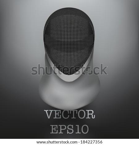 Fencing-mask Stock Vectors, Images & Vector Art   Shutterstock