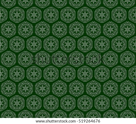 background of floral ornament for your greeting cards. green color. vector illustration.