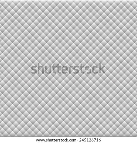 Background of gray rhombus pattern - stock vector
