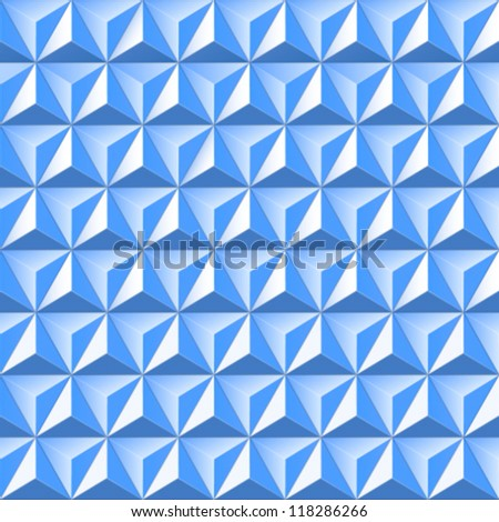 background of triangles - stock vector