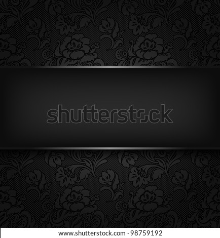 Background ornamental fabric texture. Vector eps 10 - stock vector