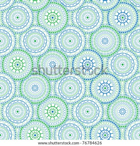 Background ornaments - stock vector