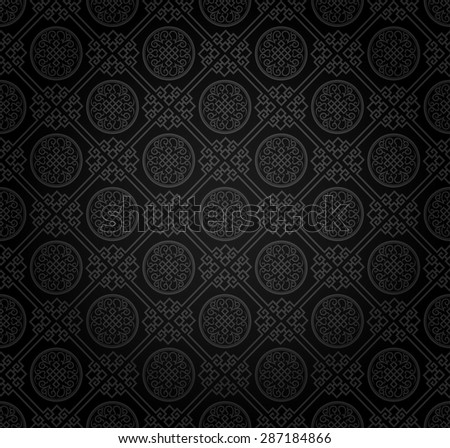 Background pattern. Asian style texture: Chinese, Japanese, Indian. Modern wallpaper for your design. Wallpaper pattern. Vector background.  - stock vector