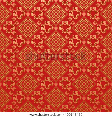 Indian Wallpaper Pattern Red