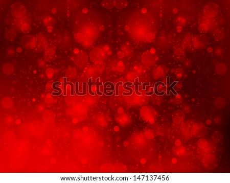 Background red flare - stock vector