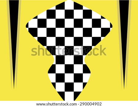 Background Vector Checkered Flag Sports Wallpaper
