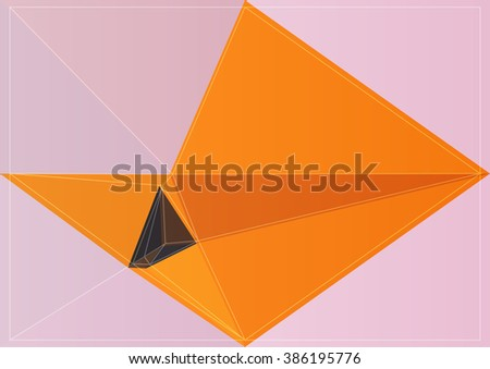 background vector color abstract shape art colorful