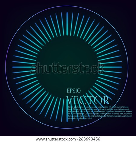 Background, vector illustration dial theme - stock vector