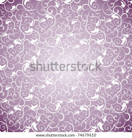 Background with a lilac lace