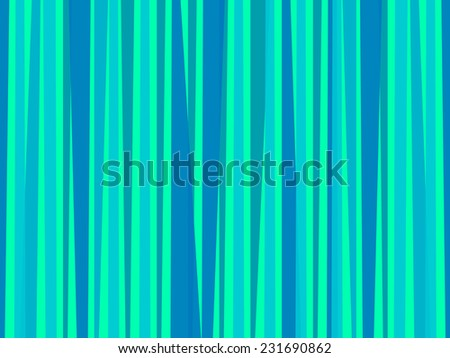 Background with blue stripes - stock vector