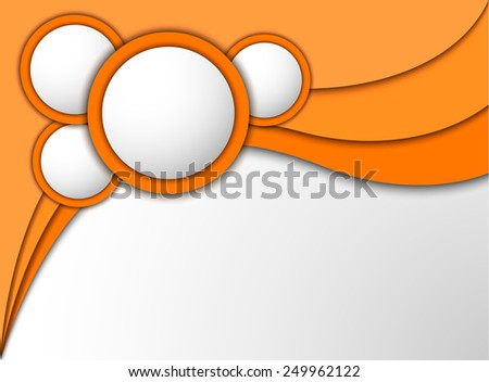Background with ellipse. Vector eps10. - stock vector