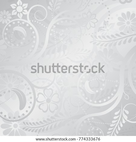 background with floral motif
