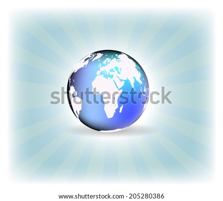 Background with globe, internet concept of global business/design with place for your content, print or PC desktop