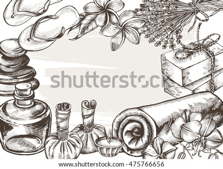 Honey mead beekeeping apiculture bees sketch stock vector for Salon apiculture