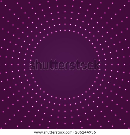 Background with light effect.Glowing circles.Modern colorful violet,pink wallpaper. - stock vector