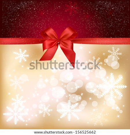 Background with  stars and blurry light, illustration. - stock vector