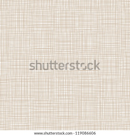 Background with threads, natural linen. Vector - stock vector