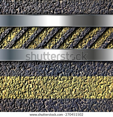 Background with vector asphalt texture. - stock vector