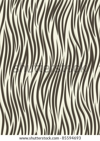 Background zebra - stock vector