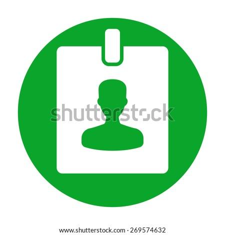Badge icon - stock vector