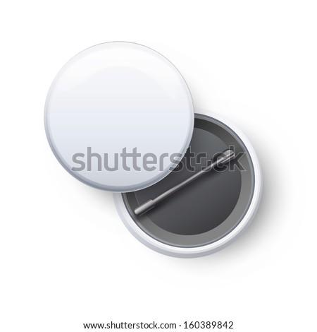 Badges on white background. Vector design.  - stock vector