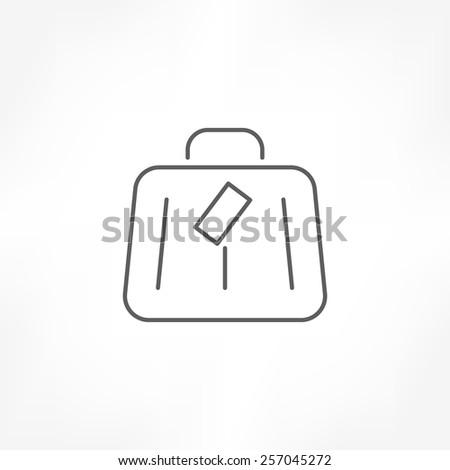 baggage icon - stock vector