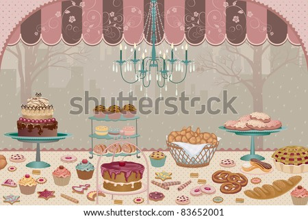 Bakery - stock vector
