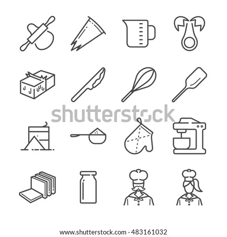 ingredients icon stock images  royalty
