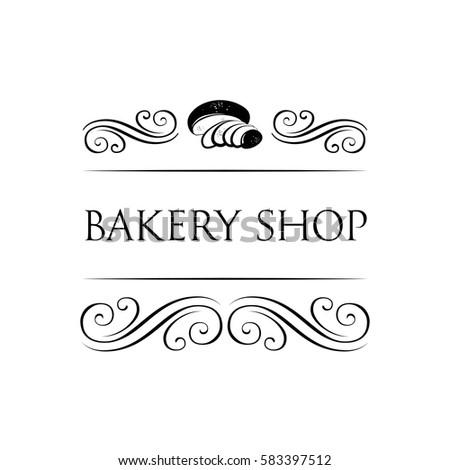 Bakery Logo Templates Baker Shop Badge Stock Vector (Royalty Free ...