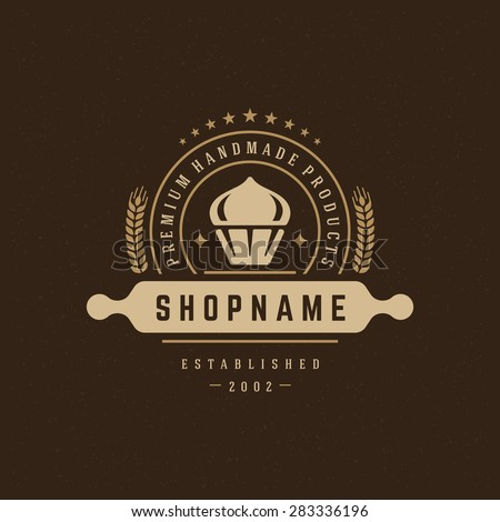 Vintage Cake Logo Design : Bakery Logo Stock Photos, Royalty-Free Images & Vectors ...