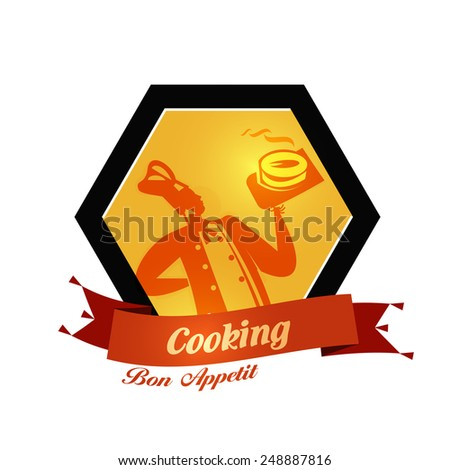 bakery vector logo design template. bread or food icon. - stock vector