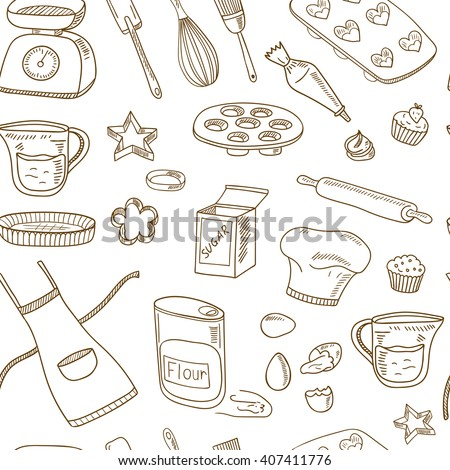 Baking Tools Vector Baking Tools Stock Images Royaltyfree Images & Vectors