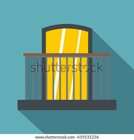 Balcony icon stockbilder und bilder und vektorgrafiken for Balcony vector