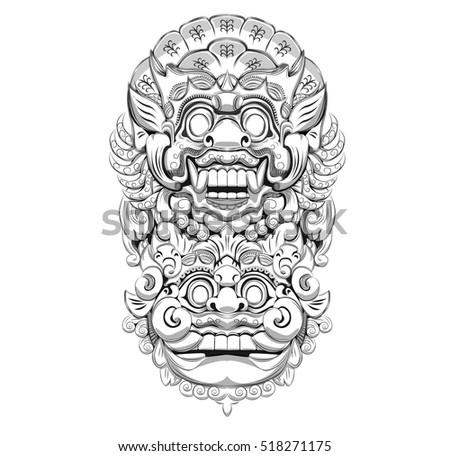 Bali culture artwork