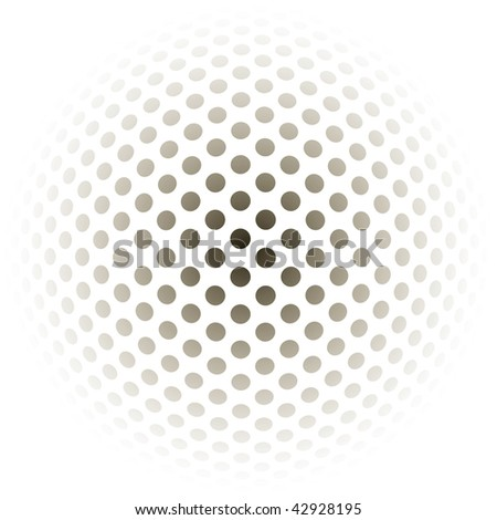 ball background - vector illustration - stock vector