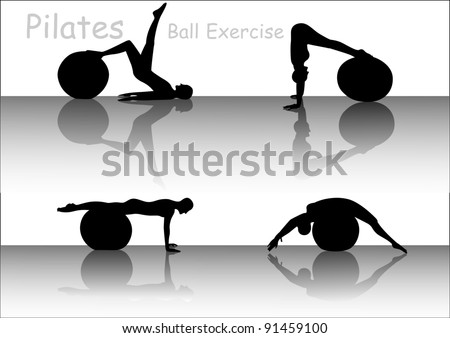 Ball exercise of Pilates