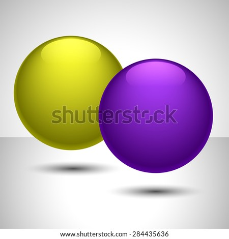 Ball shape design can be used like button or as part of other creative designs.