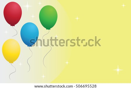 Balloons Wallpaper Party Background
