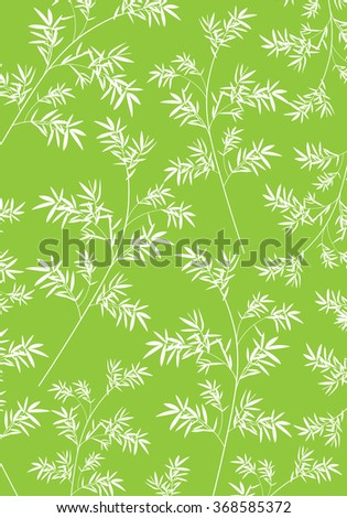 Bamboo Pattern - stock vector