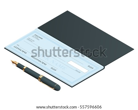how to put cheques in cheque book