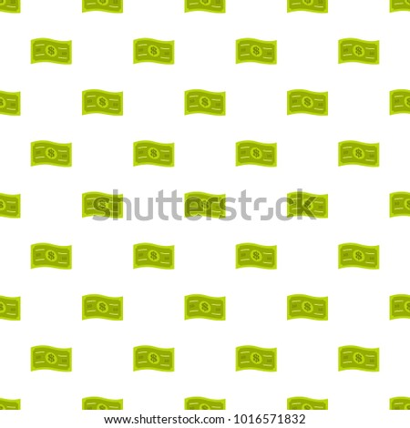 Banknote pattern seamless in flat style for any design