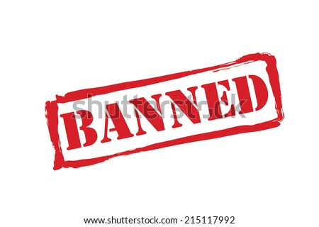 banned stamp stock photos - photo #17