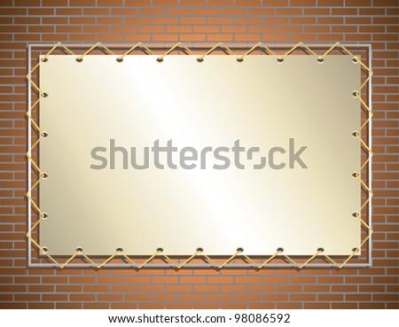 banner - stock vector