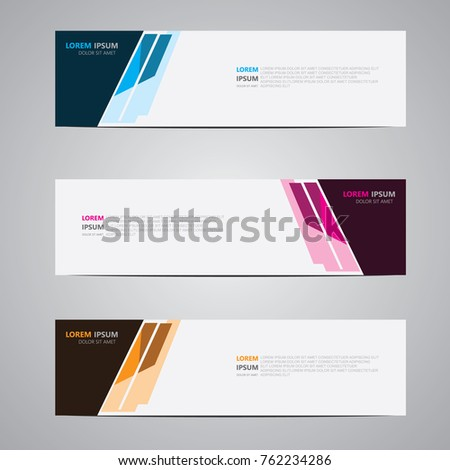 Banner background.modern design.vector illustration