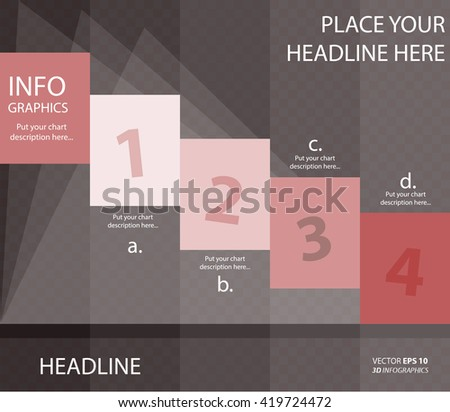 Banner corporate vector layout template for business or non-profit organization - stock vector